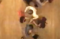 Contra Dance Kaleidoscope - Bird's-Eye View