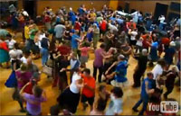 Contra Dance at Warren Wilson College, North Carolina